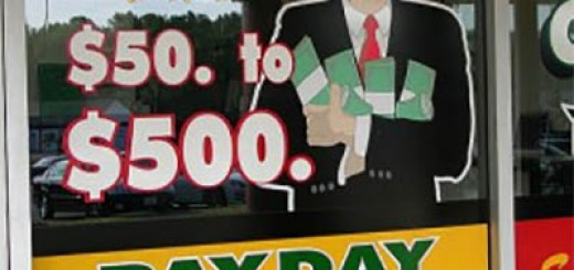 payday loan storefront